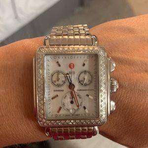 Authentic diamond Deco Michele watch